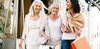 Mature women shopping