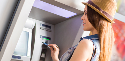 Girl at atm   blog header photo