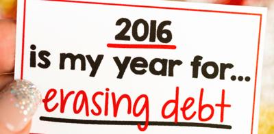 2016 erasing debt