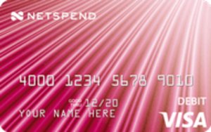 Pink NetSpend® Visa® Prepaid Card