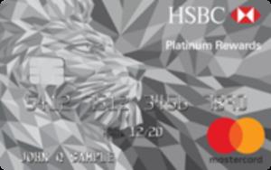 HSBC Platinum MasterCard® with Rewards credit card