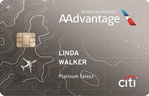 Citi<sup>&reg;</sup> / AAdvantage<sup>&reg;</sup> Platinum Select<sup>&reg;</sup> World Elite<sup>&#8482;</sup> Mastercard<sup>&reg;</sup>