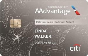 CitiBusiness<sup>&reg;</sup> / AAdvantage<sup>&reg;</sup> Platinum Select<sup>&reg;</sup> World Mastercard<sup>&reg;</sup>